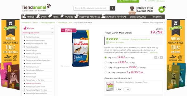 Ficha de producto perfecta en eCommerce