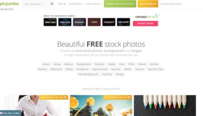 Bancos de imágenes gratis - PicJumbo