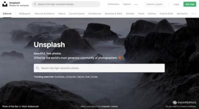 Bancos de imágenes gratis - Unsplash