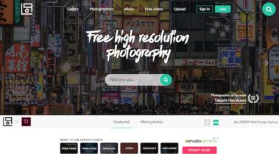 Bancos de imagenes Gratis - LiveOfPix