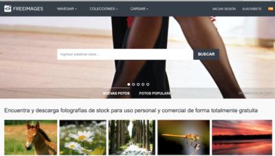 Bancos de imagenes gratis - FreeImages