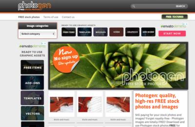 Bancos imagenes gratis - PhotoGen