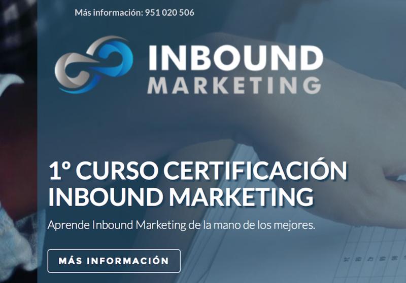 Certificación en Inbound Marketing