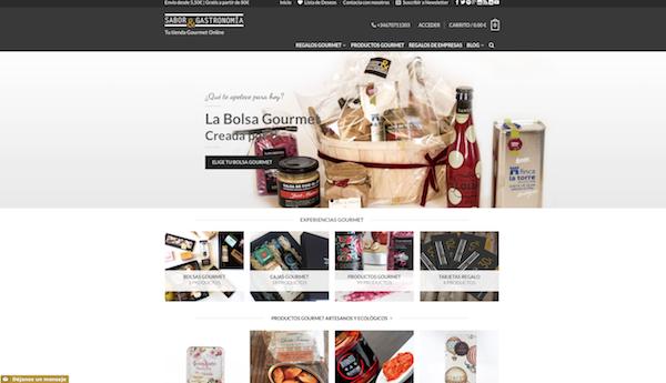 Ejemplo de Woocommerce y pagina web con wordpress