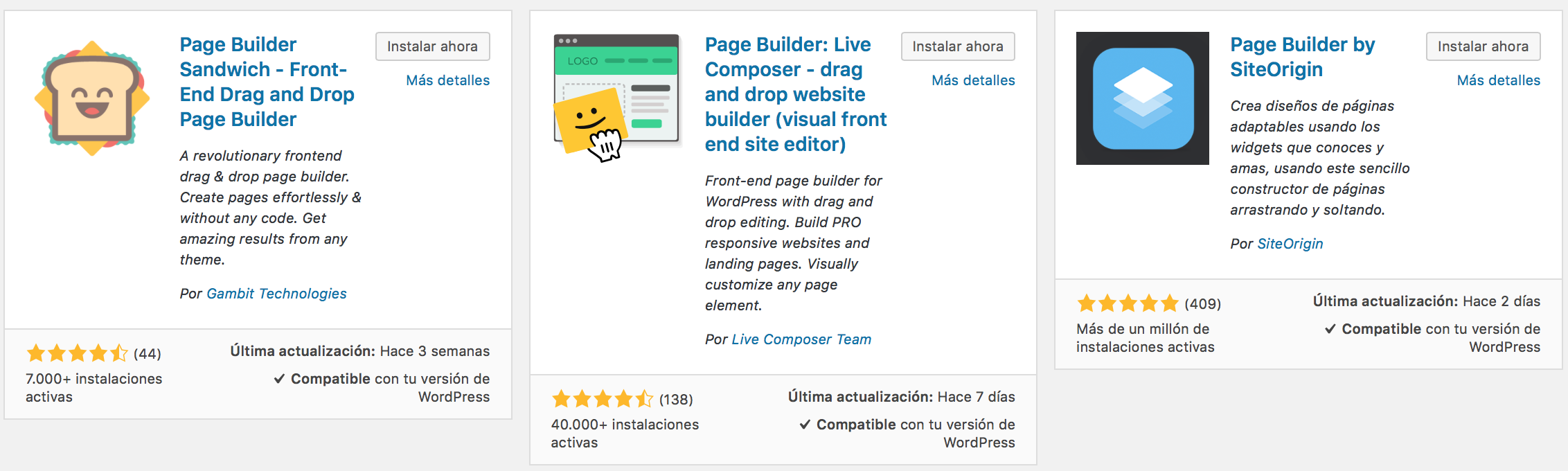 Plugins para dominar wordpress