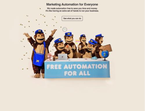 Marketing de automatización gratis con Mailchimp