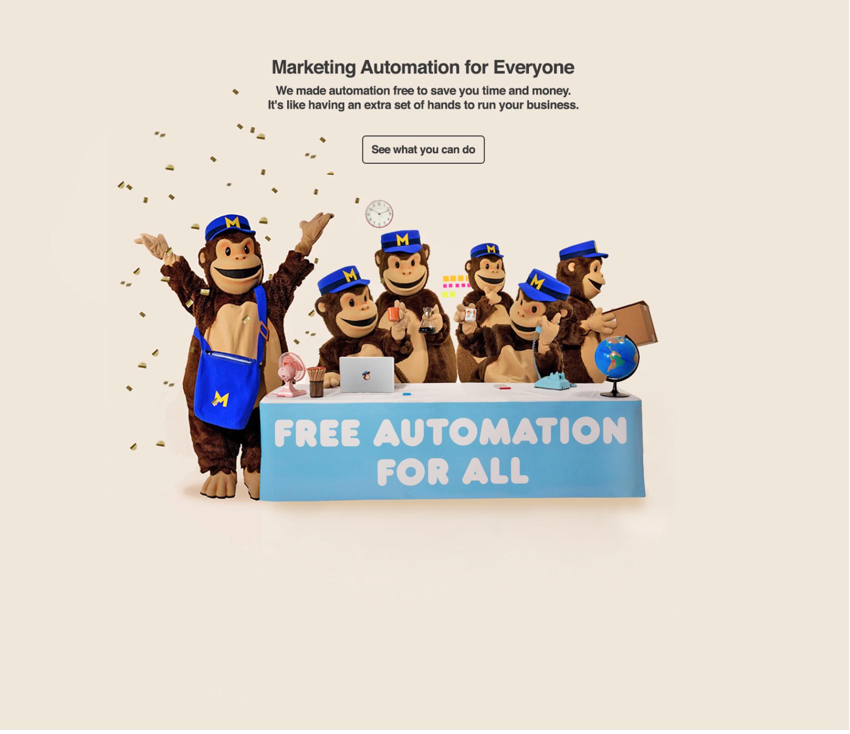 Marketing de automatización con Mailchimp Gratis