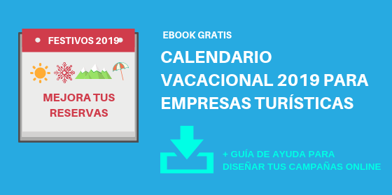 Descarga gratis Calendario Vacacional 2019