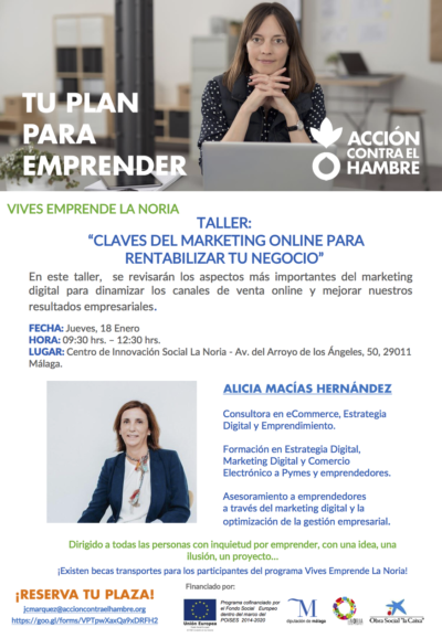 Taller Claves del marketing Online Málaga