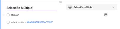 Encuestas Online Google Forms - Seleccion Múltiple