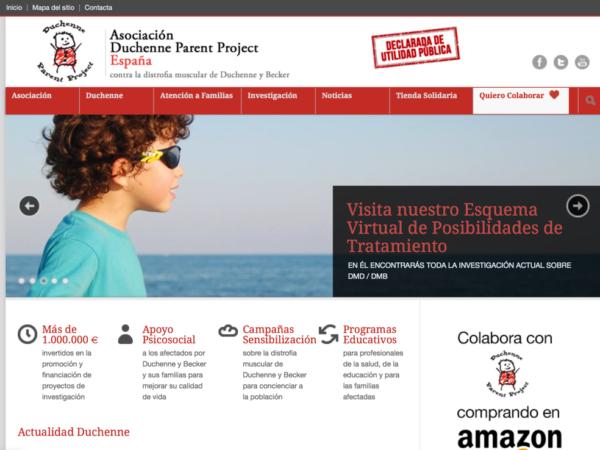 Ejemplo de Web para Asociaciones