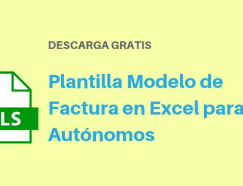 Plantilla de Modelo de Factura en Excel