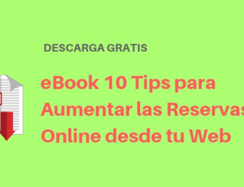 eBook 10 Tips para Aumentar las Reservas Online desde tu Web Turística