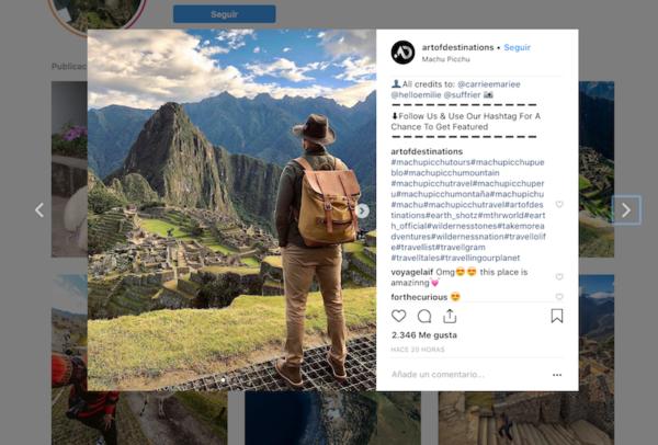 El poder de Instagram para las Empresas Turísticas