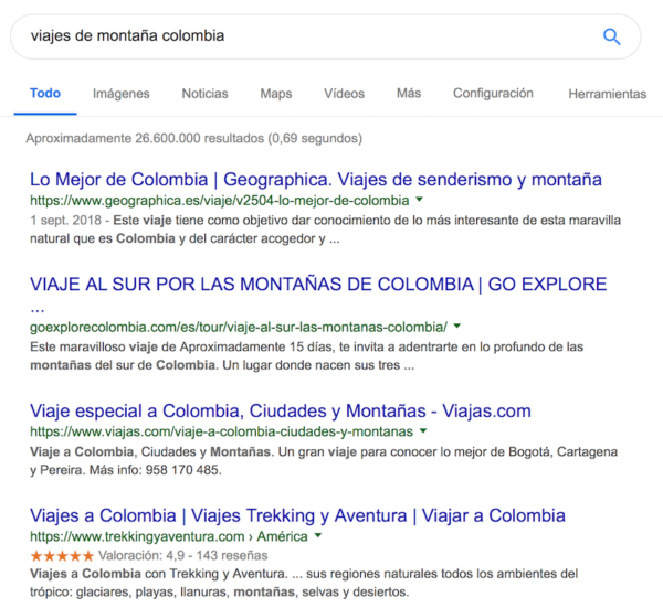 Marketing Digital para Empresas Turísticas- SEO