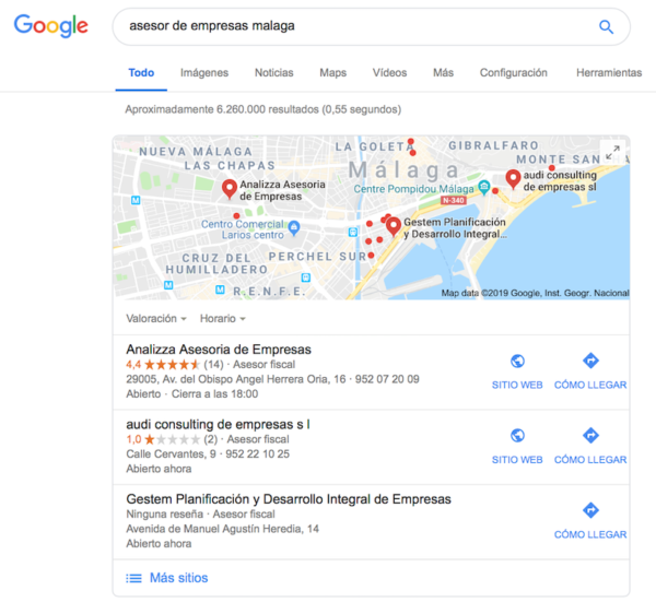 Marketing Digital para Profesionales Independientes - Google My Business