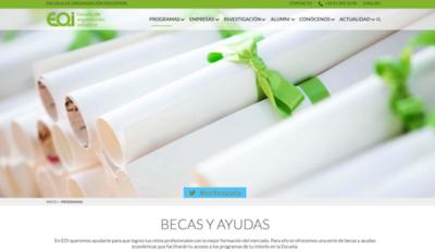 Paginas Web de Ayuda a Emprendedores - EOI