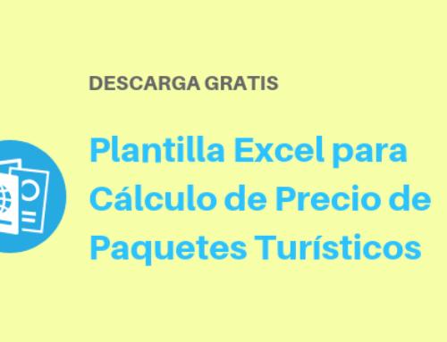 Plantilla Excel para Cálculo de Precios de Paquetes Turísticos