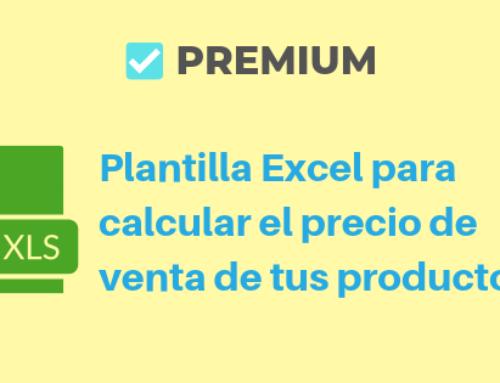Plantilla Excel para calcular el precio de venta de tus productos