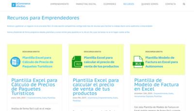 Portales Web de Ayuda a Emprendedores - eCommerce Efectivo