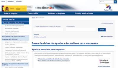 Portales Web de Ayuda a Emprendedores - portal Pyme