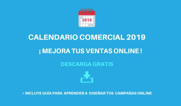 Descarga Gratis Calendario Comercial 2019
