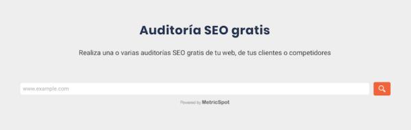 Mejorar el SEO de tu Web- Auditorías