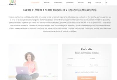 Mejorar el SEO de tu Web - Página de Servicios