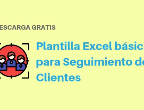 Plantilla Excel Básica para Seguimiento de Clientes