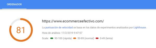 Trucos para Mejorar el SEO - Google PageSpeed Insights