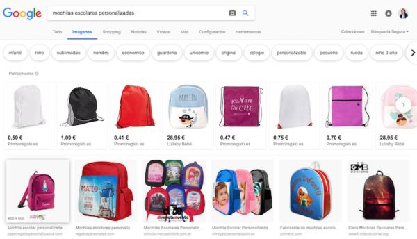 Trucos para mejorar el SEO de tu Web - Google Imágenes
