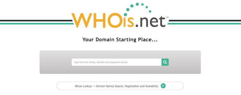 como saber donde esta registrado mi dominio - whois
