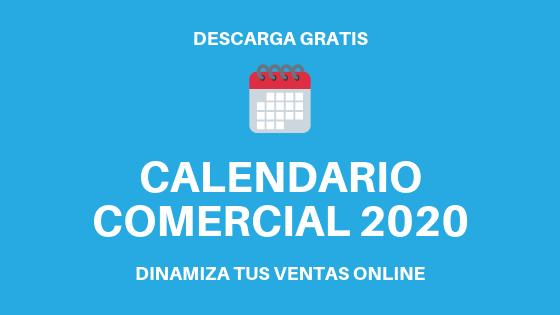 Calendario Comercial 2020 - banner post