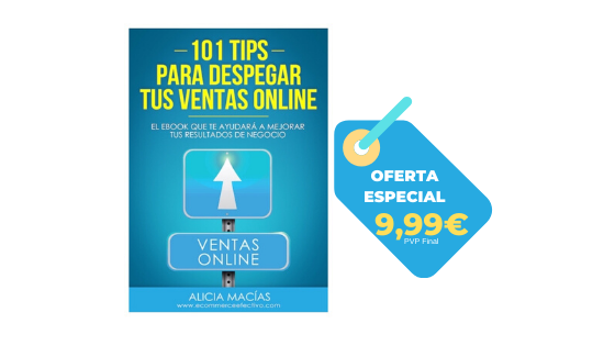 eBook 101 Tips para despegar tus ventas online