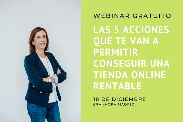 Webinar GRATIS eCommerce